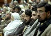 The Wolesi Jirga pictured during its first session, on December 19, 2005 (AFP)