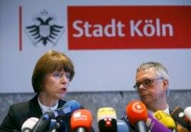 Бургомистр Кёльна Генриетта Рекер и шеф полиции Вольфганг Альберс