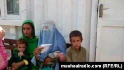 در افغانستان حدود یک ملیون و دوصد هزار بی جا شده داخلی وجود دارد.