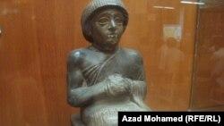 قطعة آثارية في متحف السليمانية