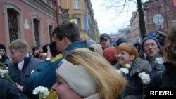Марш пройдет по маршруту от концертного зала «Октябрьский», по Греческому проспекту к саду Чернышевского