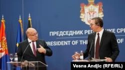 Peter Altmajer i Aleksandar Vučić