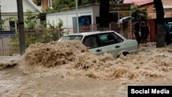 PHOTO GALLERY: Floods Swamp Russia's Olympic City Of Sochi