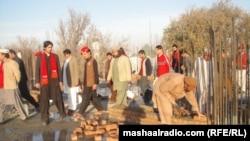 جلال اباد: د باچا خان مزار د جوړېدو په حال کې دی