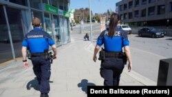 Полиција во Швајцарија.