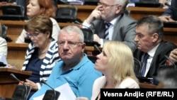 Vojislav Šešelj u Parlamentu Srbije, 09.08.2016.