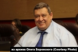 Мэр Саянска Олег Боровский