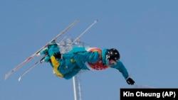 Дмитрий Рейхерд Пхенчхандағы олимпиада ойындарында.