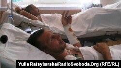 До Дніпропетровська доправили 15 поранених бійців