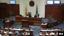 Засідання парламенту Македонії 18 січня 2016 року