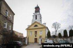 Касьцёл у Зарэччы існуе з 1644 года. Апошні раз перабудоўваўся ў 1824 годзе