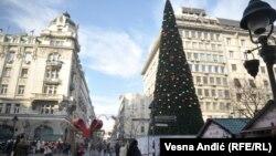 Beogradska novogodišnja jelka od 83.000 evra