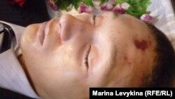 Александр Дивиннің мәйіті. Павлодар облысы, 28 қазан 2011 жыл. (Суретті түсірген Марат Төлендинов).