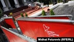 Pripreme za otvaranje Sarajevo Film Festivala