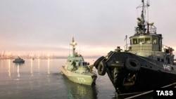 Захваченные Россией корабли военно-морского флота Украины