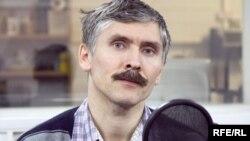 Павел Аптекарь в студии Радио Свобода.