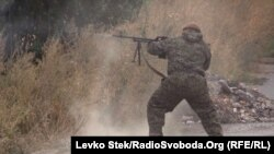 Ուկրաինա - Ուկրաինացի զինվորը Դեբալցևոյում մարտերի ժամանակ, 21-22-ը սեպտեմբերի, 2014թ․