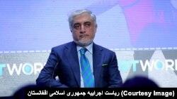Afghan Chief Executive Abdullah Abdullah (file photo)