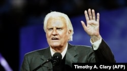 Reverendul Billy Graham în 2005