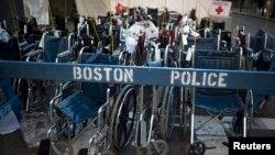 Бостондағы жарылыс орны. 16 сәуір 2013 жыл