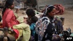 Пакистандык аялдар. Лахор шаарынын жарды району. 2012-жыл