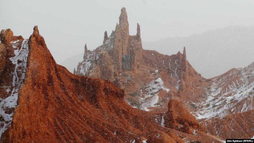 Жомок каньону. Ысык-Көл.