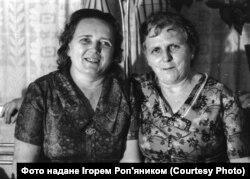 Сестри Ільби: Ірина (ліворуч) та Марія (праворуч)