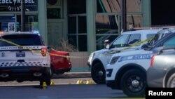 Поліція на місці нападу в Дейтоні, Огайо, США, 4 серпня 2019 року