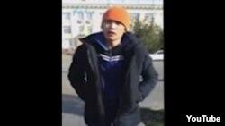 Ерлан Бектибаев, скриншот видео. 24 октября 2015 года.
