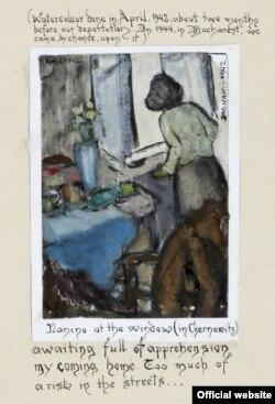 """""""Nanino la fereastră"""" (aprilie 1942)"""