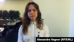 Вера Савченко, сестра украинской военнослужащей Надежды Савченко.