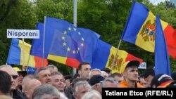 У Кишиневі відбувся мітинг проти корупції