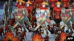 Церемония закрытия Олимпиады в Ванкувере