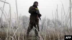 Украинский военнослужащий, Дебальцево. 14 февраля 2015