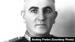 Генерал Андрей Фролов, 1945