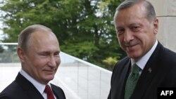 Ռուսաստանի և Թուրքիայի նախագահները Սոչիում, մայիս, 2017թ.