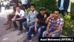 عمال أجانب في السليمانية