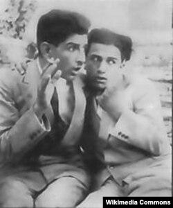 """""""Abi və Rabi"""" filmindən kadr"""