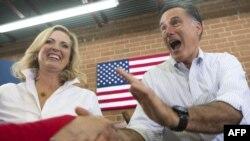Митт Ромни со своей женой Энн