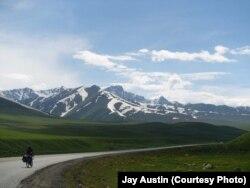 Америкалык туристтердин Кыргызстандан тарткан сүрөтү.