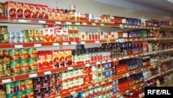 Супермаркет во Косово.