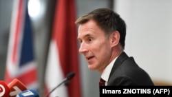 Britaniyanın xarici işlər naziri Jeremy Hunt