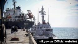 Место будущей военно-морской базы «Восток», Бердянск