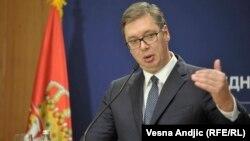 Presidenti i Serbisë, Aleksandar Vuçiq.