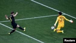 Фрагмент матча Бельгия - Южная Корея