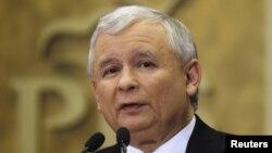 Ярослав Качинський, лідер найбільшої польської опозиційної партії «Право і справедливість»