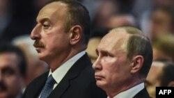 İ.Əliyev və V.Putin