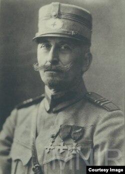 Artur Văitoianu, guvernatorul militar al Basarabiei (Foto: I. Țurcanu, M. Papuc, Basarabia în actul Marii Uniri de la 1918)