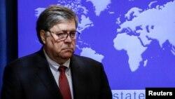 Генеральный прокурор США Уильям Барр
