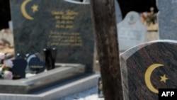Мусульманская часть кладбища Корнбарье, где похоронен Мохаммед Мера